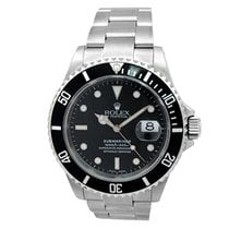 Rolex Pre-owned Rolex Stainless Steel Submariner Watch. WITH...
