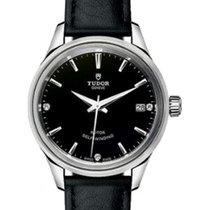 튜더 (Tudor) Style 12510 Black Diamond & Index Fluted...