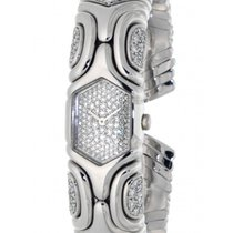 Bulgari Alveare Parentesi Bj02 White Gold, Diamonds, 18mm