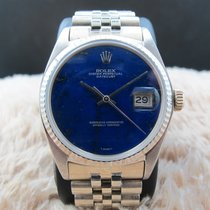 Rolex DATEJUST 1601 18K WG with Original Lapis Dial with...