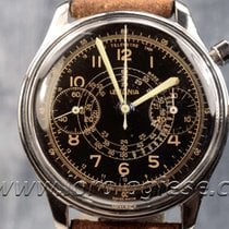 Lemania Waterproof-style Original Vintage Steel Chronograph...
