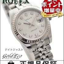 Rolex 【超美品】ROLEX【ロレックス】 デイトジャスト レディース腕時計【中古】 179174G ルーレットダイヤル...