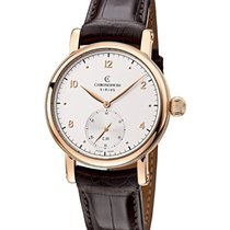 Chronoswiss CH-1021R Sirius Round Manual in Rose Gold - on...