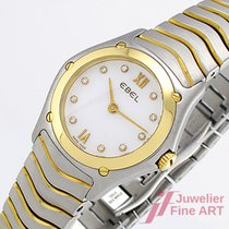 Ebel Classic Wave Lady - Stahl/Gold - Ref. 1090F21 - 27 mm - Quar