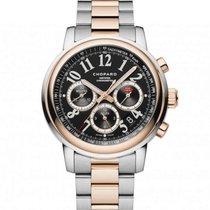 Chopard Mille Miglia Chronograph Or Rose 18K-acier New-Full Set