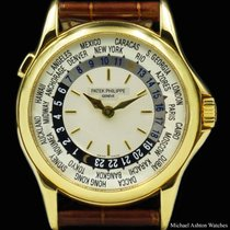 Patek Philippe Ref# 5110 Yellow Gold Worldtime