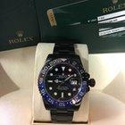 Rolex GMT master ll Batman Ref/116710 BLNR