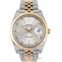 ロレックス (Rolex) Datejust 41 Silver/18k gold Jubilee 41mm - 126333
