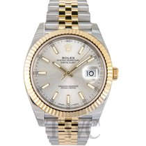 ロレックス (Rolex) Datejust 41 Silver/18k gold Jubilee 41mm - 126333
