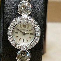 Blancpain ladys platinum & diamonds rare vintage