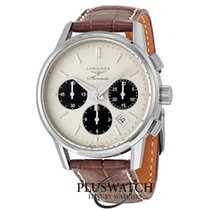 Longines Heritage Collection Automatic Chronograph Silver Dial