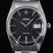 Rolex Oysterdate Precision 6694 Roulette Manual Black Dial