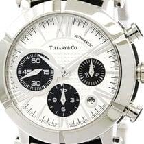 Tiffany Polished Tiffany Atlas Gent Steel Automatic Watch...