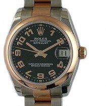 Rolex Datejust Medium Stahl Roségold Everose Automatik Armband...