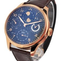IWC IW503202 Portuguese Perpetual Calendar Double Moon in Rose...