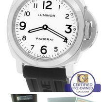 Panerai PAM 114 I Luminor Base White Stainless Mechanical 44mm...