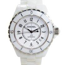 Chanel J12 Ceramics - Steel White Automatic H0970