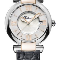 Chopard Imperiale 18K Rose Gold, Stainless Steel &...
