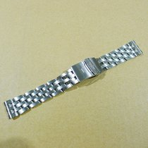 Breitling Pilot 18mm Bracelet Chrono Cockpit  Band Strap Mint