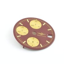 Breitling Zifferblatt Windrider Chronoomat 28,5mm Rot Vintage...