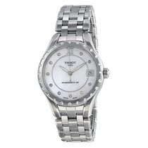 Tissot Ladies T0722071111600 T-Lady 10 Diamonds Powermatic 80...
