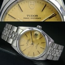 Tudor Prince OysterDate Automatic Quick Set Steel Mens Watch...