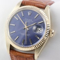 Rolex OYSTER PERPETUAL AUTOMATIK 14K GOLD GELBGOLD SERVICE...