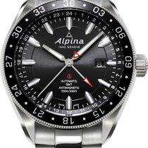 Alpina Geneve Alpiner GMT 4 AL-550G5AQ6B Herren Automatikuhr...