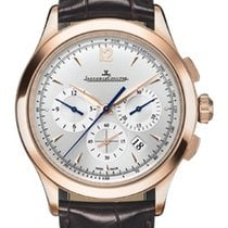 Jaeger-LeCoultre Master Chronograph Silver Dial Automatic 18kt...