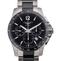 Longines Conquest 41 Chronograph Black Dial