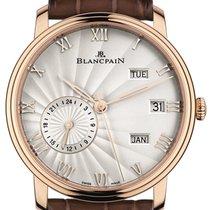 Blancpain Villeret Quantieme Annual GMT 40mm 6670-3642-55b
