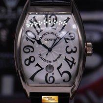 Franck Muller Curvex 18k White Gold Gents 8880 Sc Dt Automatic...