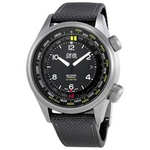 Oris Big Crown Altimeter Automatic Black Dial Men's Watch...