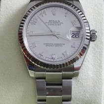 Rolex Lady-Datejust Mother of Pearl 31mm Diamond Dial Oyster