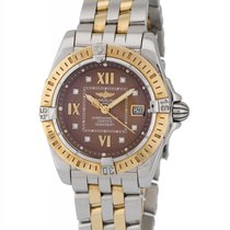 Breitling Cockpit Lady Two Tone Diamond Ladies Watch –...