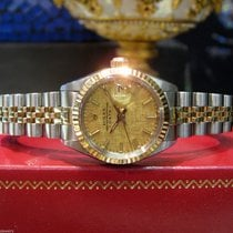 Rolex Oyster Perpetual Date Two-tone Yellow Gold And Stainless...