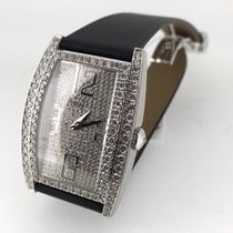 Piaget Limelight Tonneau XL white gold full diamond set 36193 NEW