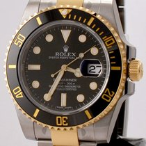Rolex Submariner SS/18K Black
