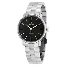 Rado R22862153 Ladies Coupole Classic Black Dial  Watch