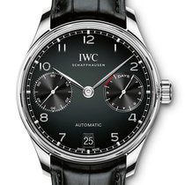 IWC PORTOGHESE Automatic 42,3 Mm BLACK DIAL IW500703 T