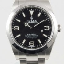 Rolex Explorer I Stainless Steel Black Dial 39mm  (Basel 2016))