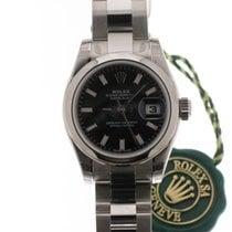 Rolex Datejust Ladies Black 179160