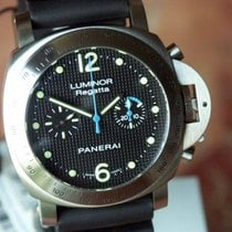 Panerai PAM 308 Chronograph Regatta LTD Blue Second Hand