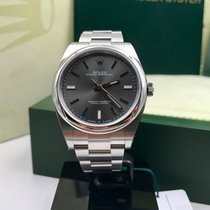 Rolex Oyster Perpetual 114300 rodium dial
