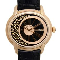Audemars Piguet Millenary 18k Rose Gold Black Automatic...