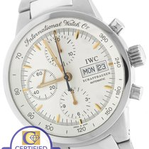 IWC GST 39.5mm Chronograph Day/Date Silver White Stainless 3707