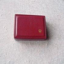 Rolex rote vintage Lederbox