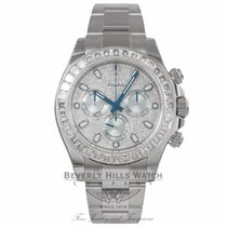Rolex Cosmograph Daytona Diamond Pave Dial Platinum 116576TBR