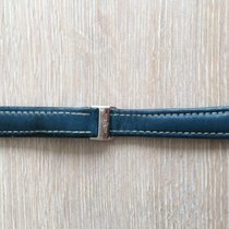 Breitling Blue Leather Strap + Folding Clasp original Used