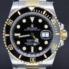 Ρολεξ (Rolex) Submariner Gold/Steel, black dial full set